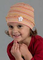 Весенняя шапка с оригинальной вязкой, фото 1