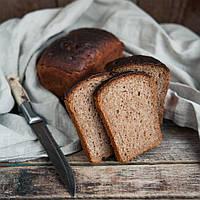 """Хліб цільнозерновий з льоном на заквасці """"Вітамін"""", 500г"""