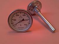 "Термометр биметаллический трубчатый PAKKENS Ø63мм / Tmax = 500°С / гильза L=100 мм (с резьбой 1/2"")     Турция"