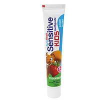 Зубная паста для детей без фтора Sensitive