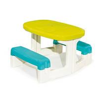 Столик для пикника салатово-голубой Smoby 310290