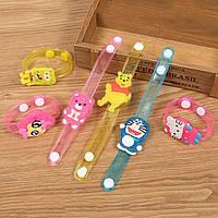 Светодиодный браслет для детей, браслеты светящиеся в темноте