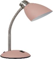Настільна лампа рожева