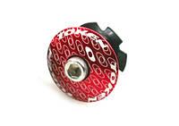 Крышка Token для рулевой, с якорем, красная