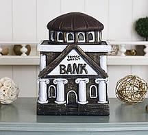 Копилка Банк семьи- бордовый гипс Гранд Презент КГ610-1