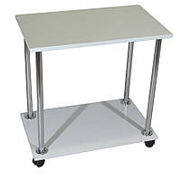 Столик для ноутбука Тавол Loco Белый Хром, фото 1
