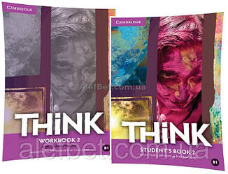Английский язык / Think / Student's+Workbook. Учебник+Тетрадь (комплект), 2 / Cambridge
