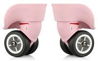 Колеса для чемодана ЧМК-7101 (2), р. большой, цв. розовый, фото 1