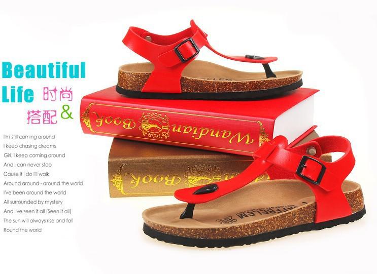 Женские сандалии,босоножки женские. Красный