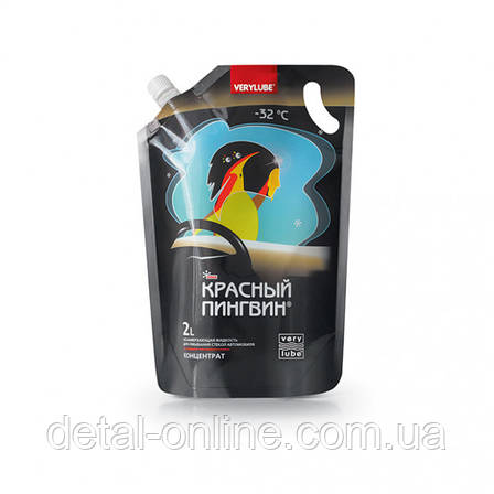 """Жидкость для омывания стекол """"Красный пингвин"""" зима (2л), фото 2"""