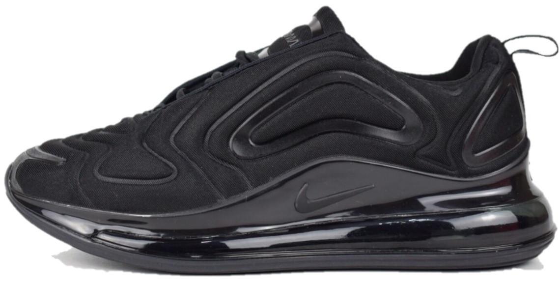 91f55dc5 Мужские кроссовки Nike Air Max 720 Black (Найк Аир Макс 720, черные ...