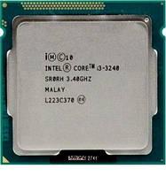 Процессор Intel Core i3-3240 3.4GHz/5GT/s/3MB (BX80637I33240) s1155 Tray комиссионный товар