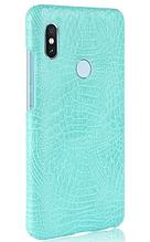 Стильный чехол бампер для Xiaomi Redmi note 5 бирюзовый