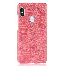 Стильный чехол бампер для Xiaomi Redmi note 5 розовый