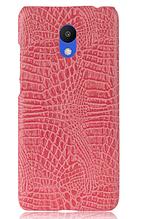 Стильный чехол бампер для Meizu M6 розовый