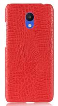 Стильный чехол бампер для Meizu M6 красный