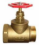 Латунный вентиль ду50 мм внутренний/наружный
