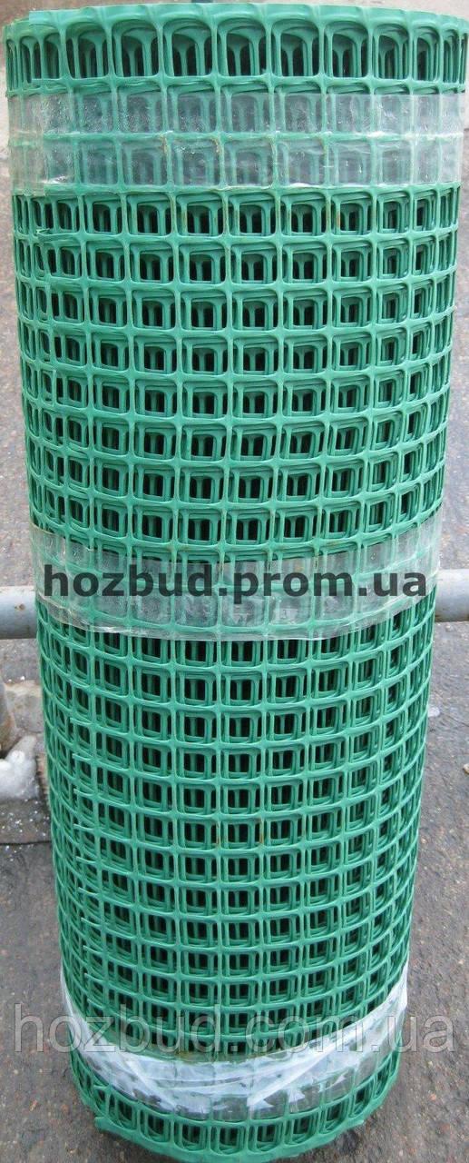 Садовая сетка пластиковая (решетка) 0.8*25м. ячейка 25*25