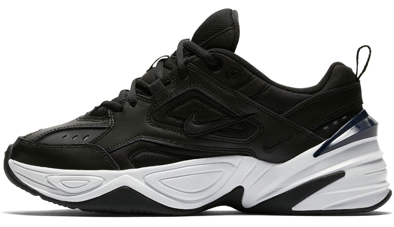 643c8dc26e949 Женские Кроссовки Nike M2K Tekno Black White (найк М2к Текно, Черные ...
