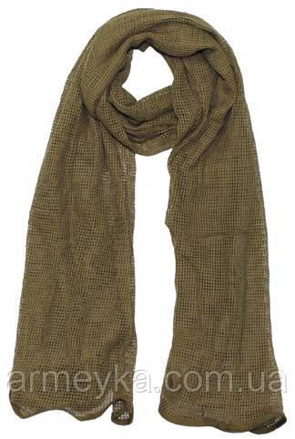 Маскировочный шарф-сетка 190*90 cm. в расцветке Coyote Tan. MFH, Германия.