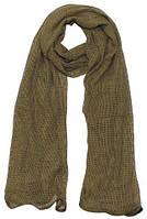 Маскировочный шарф-сетка 190*90 cm. в расцветке Coyote Tan. MFH, Германия., фото 1