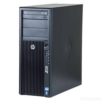 HP Z220 Workstation Tower / Intel® Core™ i7-3770 (4 (8) ядра по 3.40 - 3.90 GHz) / 16 GB DDR3 / 500 GB HDD / Nvidia Quadro 2000 (1GB 128-bit GDDR5), фото 2