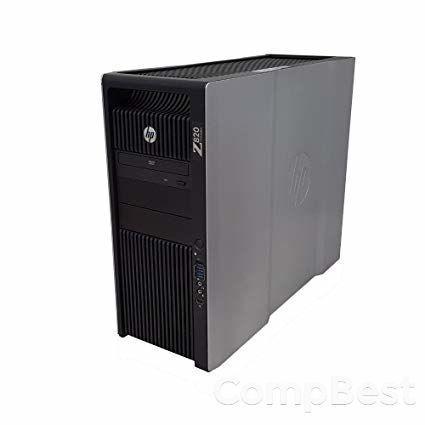 HP Z820 Workstation Tower / 2 процессора Intel® Xeon® E5-2609 (4 ядра по 2.40 GHz) / 16 GB DDR3 ECC / 300 GB SAS / nVidia Quadro K2000 (2 GB 128-bit