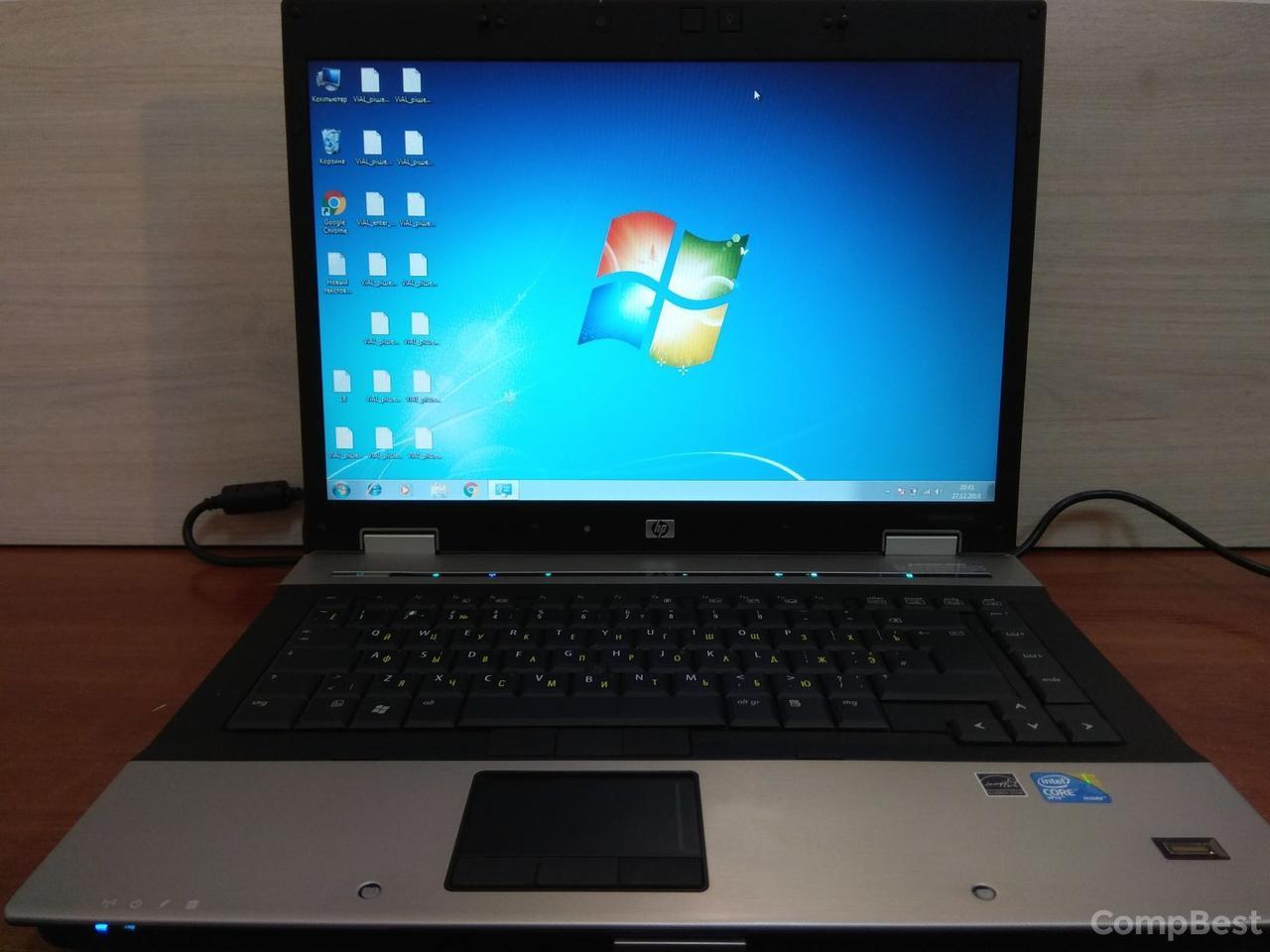 HP Elitebook 8530p / 15.4'' / 1280x800 TFT / Intel® Core™2 Duo P8600 (2 ядра по 2.40 GHz) / 4 GB DDR2 / 120 GB HDD / ATI Radeon HD 3650 (256 Mb