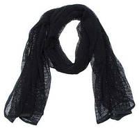 Маскировочный шарф-сетка 190*90 cm., черный. MFH, Германия.