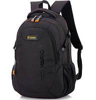 Рюкзак Chansin 25L, городской, школьный, для ноутбука (часы в подарок) Черный