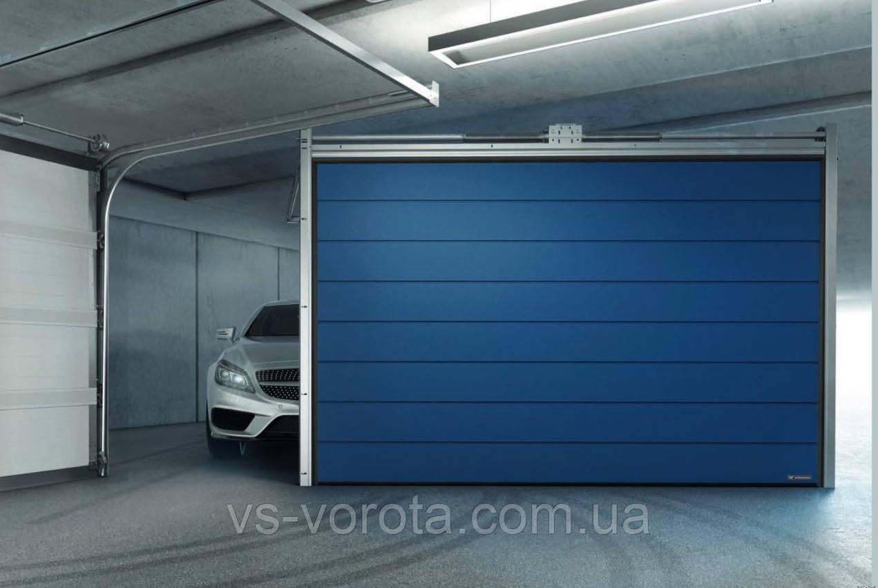 Ворота WISNIOWSKI UNIPRO размер 2700Х2100 секционные гаражные