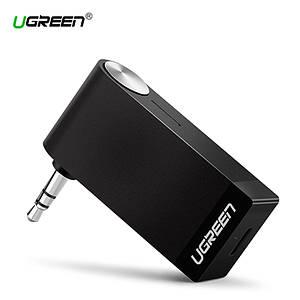 Беспроводной Bluetooth приемник Ugreen с AUX выходом 3.5 мм с микрофоном для автомагнитол, дом.театров