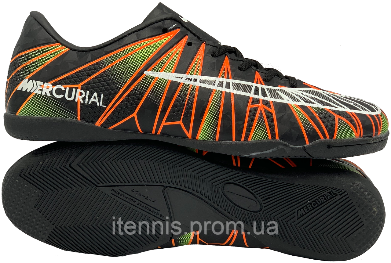 "Обувь для зала ""Бампы"" Nike MERCURIAL Cristiano Ronaldo 7 (p. 40-45) NEW Черн."