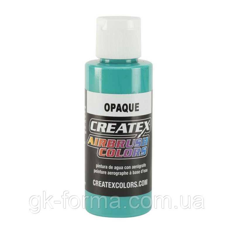 Краска на водной основе Createx Colors Opaque Aqua, Бирюзовый, Аква