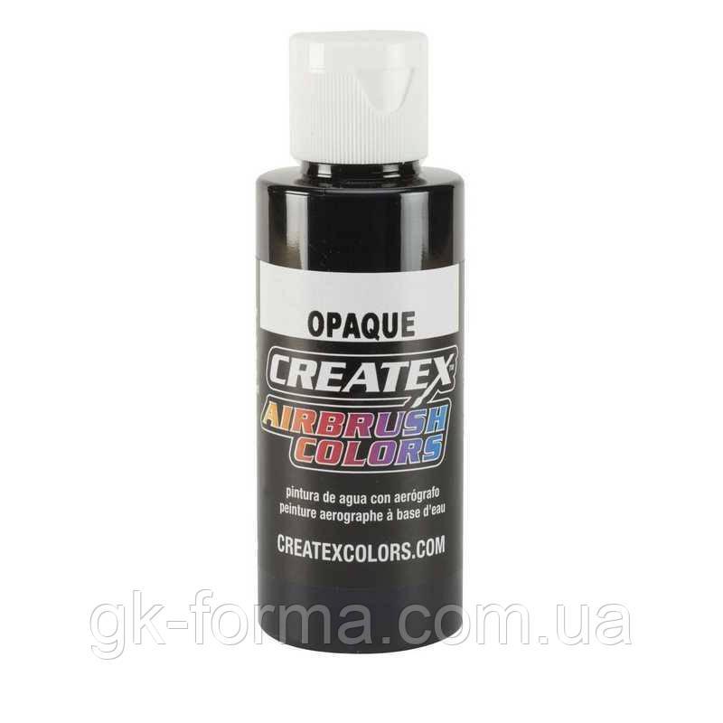 Краска для аэрографии Createx Colors - Opaque 5211-Opaque Black, 120 мл