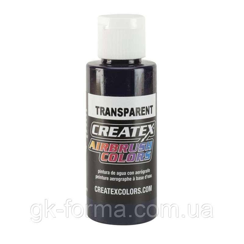 Краска для аэрографии Createx Colors Transparent Violet, прозрачная фиолетовая