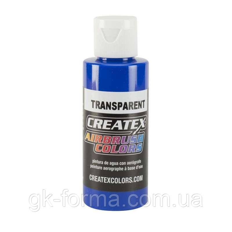 Краска для аэрографии Createx Colors - Transparent 5107 - Transparent Ultramarine Blue, 60 мл