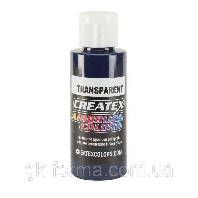 Краска для аэрографии Createx Colors - Transparent 5108 -Transparent Deep Blue, 60 мл