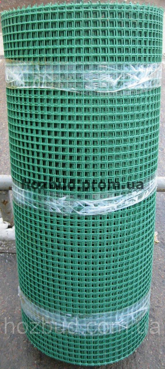 Садовая сетка пластиковая (решетка) 0.8*50м. ячейка 10*10