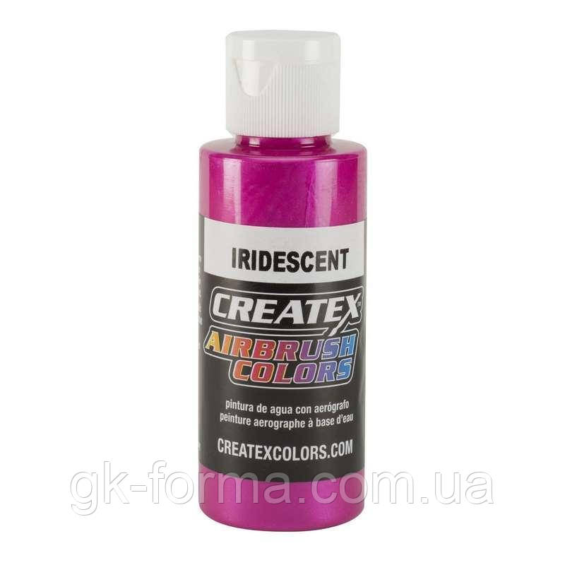 Краска для аэрографа Iridescent Fuchsia перламутровый пурпурный цвет фуксия