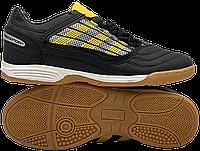 Футзалки Adidas Predator (р. 36-40) Черный/Желтый, фото 1