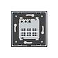 Терморегулятор сенсорний Livolo для електричного теплого статі з датчиком білий (VL-C701TM2-11), фото 4