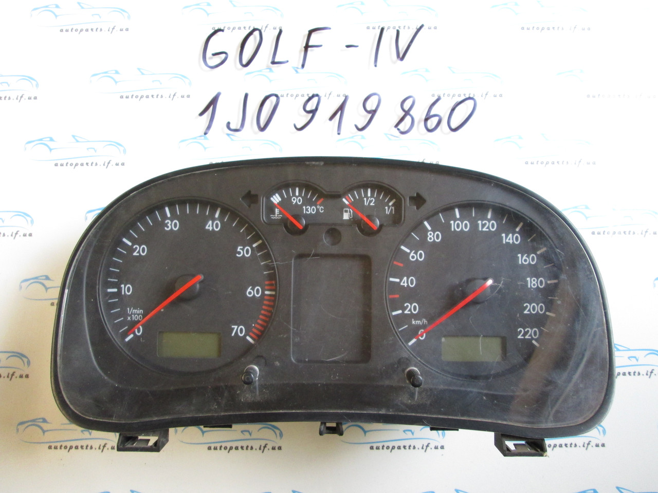 Панель приборов Гольф 4, Golf 4 1J0919860