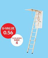 """Чердачная лестница VELTA модель NLL 5620 """"Комфорт"""""""
