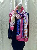 Палантин бренд LUX копия шелковый прозрачный ., фото 1