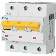 Автоматический выключатель EATON(Moeller) PLHT 125A 3-P