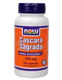 Крушина Каскара саграда 450 мг 100 капс натуральное слабительное от запора очищение кишечника Now Foods USA