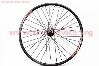 """Колесо велосипеда 26"""" переднє MTB """"Alex Rims DP20"""" пистонированый обід і втулка алюмінієві в зборі"""
