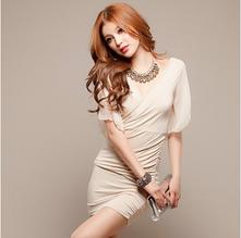 Стильное облегающее платье из лайкры размер 44-46