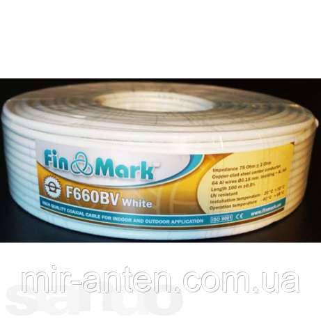 Коаксиальный кабель FinMark F660BV White (100 м.)